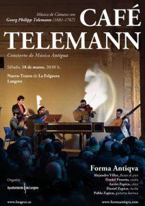"Concierto: Forma Antiqva - ""Café Telemann"" @ Nuevo Teatro de La Felguera | Langreo | Principado de Asturias | España"