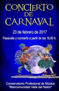 Concierto de carnaval @ Conservatorio Valle del Nalón | Langreo | Principado de Asturias | España