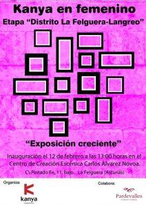 Exposición: Kanya en femenino @ Centro de creación escénica Carlos Álvarez-Nóvoa | Langreo | Principado de Asturias | España