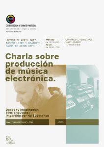 Charla sobre producción de música electrónica
