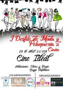 I Gala de la moda y peluquería de Ciaño - Elección Reina y Damas de las Fiestas @ Cine Ideal | Ciaño | Principado de Asturias | España