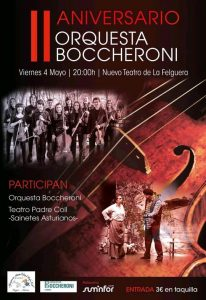 II Aniversario de la Orquesta Boccheroni @ Nuevo Teatro de La Felguera | Langreo | Principado de Asturias | España