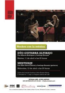 Noches con la música: Mestizaje @ Centro de Creación Escénica Carlos Álvarez-Nòvoa | Langreo | Principado de Asturias | España