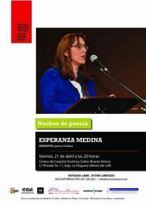 Noches de poesía: Esperanza Medina @ Centro de Creación Escénica Carlos Álvarez-Nòvoa | Langreo | Principado de Asturias | España