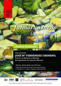 Noches de poesía: Fuimos un sueño @ Centro de Creación Escénica Carlos Álvarez-Nòvoa | Langreo | Principado de Asturias | España