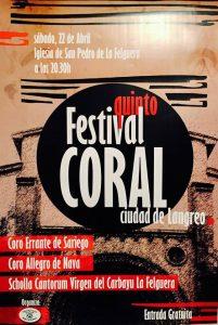 Concierto: V Festival Coral Ciudad de Langreo @ Iglesia de San Pedro | Langreo | Principado de Asturias | España