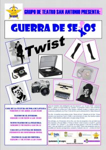 Teatro: Guerra de sexos @ Nuevo Teatro de La Felguera   Langreo   Principado de Asturias   España