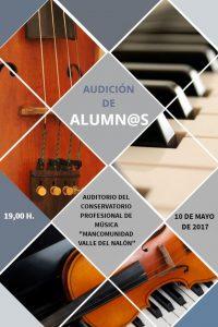 Audición de alumnos de violín y piano @ Conservatorio Valle del Nalón | Langreo | Principado de Asturias | España