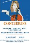Concierto de Violonchelo – Cristina Luces del Río