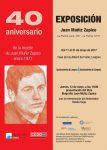 Exposición 40º aniversario de la muerte de Juan Muñiz Zapico