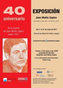 Exposición 40º aniversario de la muerte de Juan Muñiz Zapico @ Casa de los Alberti | Langreo | Principado de Asturias | España