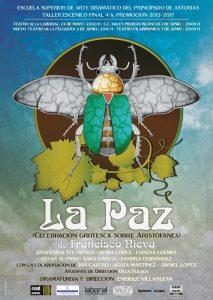 Teatro: La paz. Celebración grotesca sobre aristófanes. @ Nuevo Teatro de La Felguera | Langreo | Principado de Asturias | España