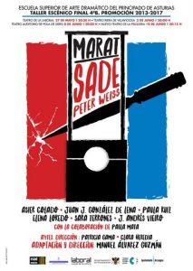 Teatro: Marat Sade @ Nuevo Teatro de La Felguera | Langreo | Principado de Asturias | España