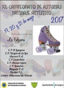 XL Campeonato de Asturias de Patinaje Artístico @ Polideportivo de La Felguera | Langreo | Principado de Asturias | España