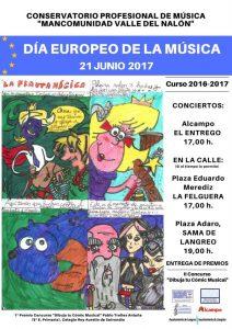 Concierto Día Europeo de la Música @ Plaza Adaro, Sama | Langreo | Principado de Asturias | España
