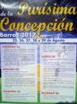 Fiestas de la Purísima Concepción en Barros 2017