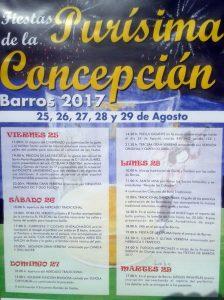 Fiestas de la Purísima Concepción en Barros 2017 @ Barros | Barros | Principado de Asturias | España