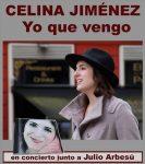 Concierto: Celina Jiménez – Yo que vengo
