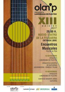 XIII Encuentros musicales de pulso y púa @ Nuevo Teatro de La Felguera   Langreo   Principado de Asturias   España