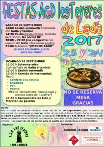 Fiestas en les Teyeres de Lada 2017 @ Les Teyeres | Langreo | Principado de Asturias | España