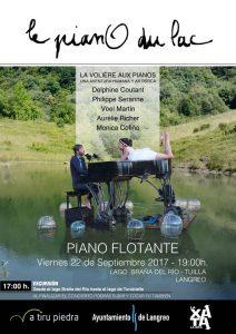 Piano flotante @ Lago de La Braña'l Río | Braña del Río | Principado de Asturias | España