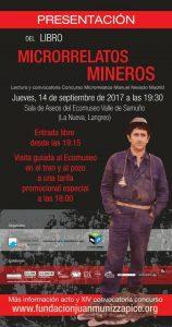 Presentación de libro: Microrrelatos mineros @ Ecomuseo Minero Valle del Samuño | Langreo | Principado de Asturias | España