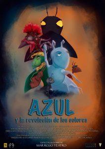Teatro pa neñ@s: Azul y la revolución de los colores @ Nuevo Teatro de La Felguera | Langreo | Principado de Asturias | España