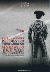 "Teatro: Tribulaciones del diestro Jorge Moreno ""Morenito"" @ Nuevo Teatro de La Felguera | Langreo | Principado de Asturias | España"