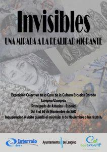 Exposición: Invisibles. Una mirada a la realidad migrante. @ Escuelas Dorado | Langreo | Principado de Asturias | España
