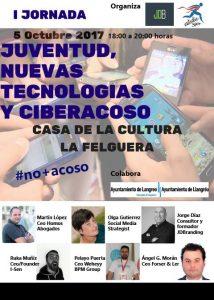 I Jornada sobre Juventud, Nuevas Tecnologías y Ciberacoso @ Casa de Cultura de La Felguera   Langreo   Principado de Asturias   España