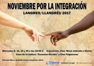 Noviembre por la integración: Inmigración y sus consecuencias @ Escuelas Dorado | Langreo | Principado de Asturias | España