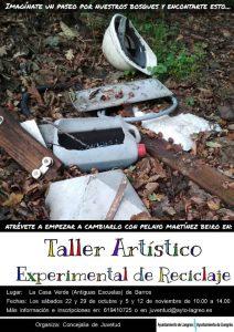 Taller de reciclaje artístico @ La Casa Verde | Barros | Principado de Asturias | España