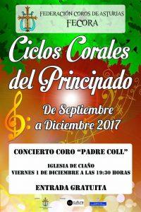 Concierto: Agrupación Padre Coll @ Iglesia de San Esteban | Langreo | Principado de Asturias | España