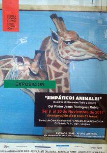 Exposición: Simpáticos animales @ Centro de Creación Escénica Carlos Álvarez-Nòvoa | Langreo | Principado de Asturias | España