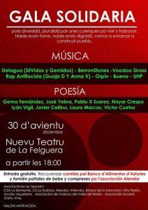 Gala Solidaria @ Nuevo Teatro de La Felguera | Langreo | Principado de Asturias | España