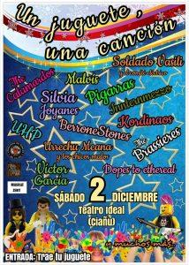 Gala solidaria: Un juguete, una canción @ Sala Telva | Langreo | Principado de Asturias | España