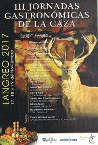 III Jornadas gastronómicas de la caza 2017 @ Langreo | Langreo | Principado de Asturias | España