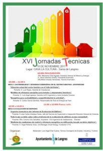 XVI Jornadas técnicas de Edificación @ Escuelas Dorado | Langreo | Principado de Asturias | España