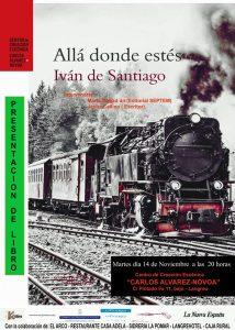 Presentación de libro: Allá donde estés @ Centro de Creación Escénica Carlos Álvarez-Nòvoa | Langreo | Principado de Asturias | España