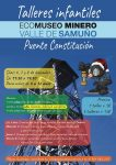 Talleres infantiles en el Ecomuseo Minero del Valle del Samuño
