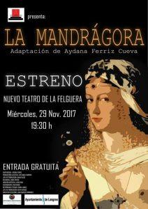Teatro: La mandrágora @ Nuevo Teatro de La Felguera | Langreo | Principado de Asturias | España