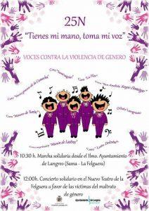 Voces contra la violencia de género @ Nuevo Teatro de La Felguera | Langreo | Principado de Asturias | España