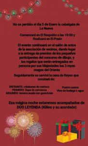 Cabalgata de Reyes 2018 en La Nueva