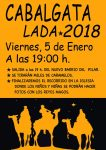 Cabalgata de Reyes 2018 en Lada