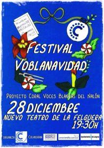 Festival VOBLANAVIDAD 2017 @ Nuevo Teatro de La Felguera | Langreo | Principado de Asturias | España