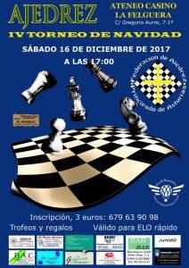 IV Torneo de Navidad de ajedrez del Ateneo Casino de La Felguera @ Ateneo de La Felguera | Langreo | Principado de Asturias | España