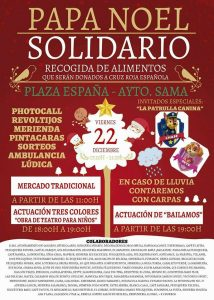 Papá Noel solidario @ Plaza de España | Langreo | Principado de Asturias | España