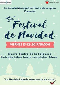 Festival de Navidad de la Escuena Municipal de Teatro de Langreo @ Nuevo Teatro de La Felguera | Langreo | Principado de Asturias | España