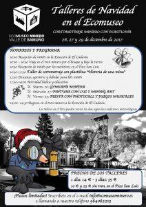 Talleres de Navidad en el Ecomuseo Minero del Valle del Samuño @ Ecomuseo Minero del Valle deL Samuño   El Cadaviu   Principado de Asturias   España