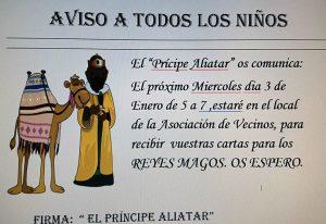 Recepción del Príncipe Aliatar en Riaño @ Local Asociación de Vecinos de Riaño | Langreo | Principado de Asturias | España